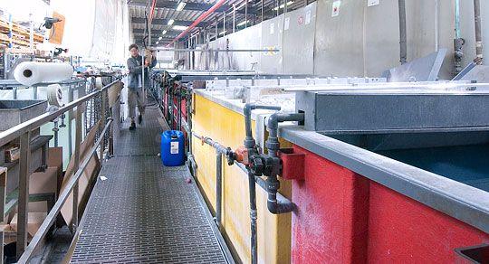galvanic surface coating